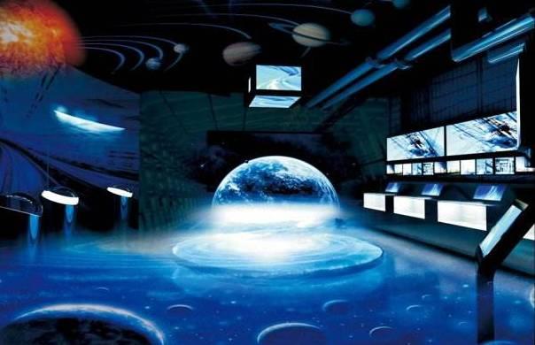 360全息投影由透明材料制成的四面锥体,观众的视线能从任何一